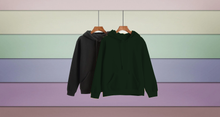 Load image into Gallery viewer, Pack Of 2 Unisex Hoodies : Black | Olive Green