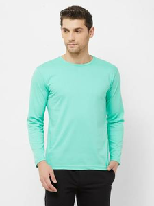 Sky Blue : Maroon : Mint Green- Full Sleeves T-shirts Combo
