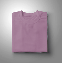 Load image into Gallery viewer, Lavender Plain Solid T-shirt