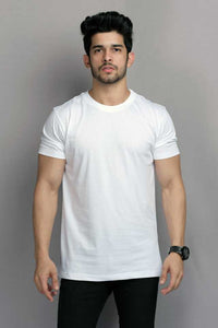 Navy : White : Yellow Pack Of 3 Solid T-shirts