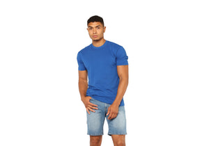 Royal Blue Plain Solid T-shirt