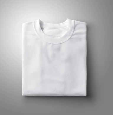 White Plain Solid T-shirt