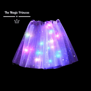 Magic Light Princess Tutu™ - Purple Rainbow - The Magic Princess