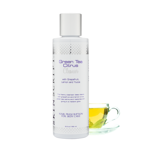 Green Tea Citrus Cleanser - Skin Script