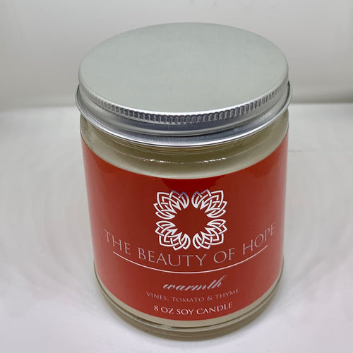 Beauty of Hope Soy Jar Candle