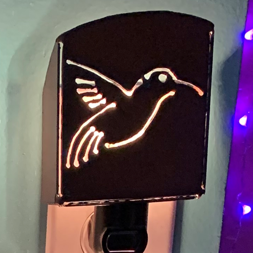 Hummingbird Nightlight