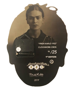 Frida Kahlo 1932 Wall Clock