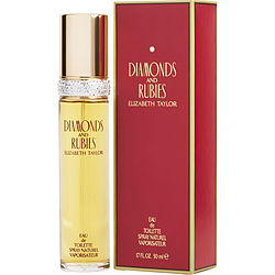 Diamonds & Rubies By Elizabeth Taylor Edt Spray 1.7 Oz