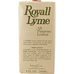 Royall Lyme By Royall Fragrances Aftershave Lotion Cologne 8 Oz