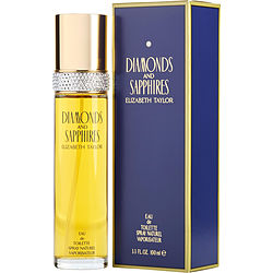 Diamonds & Sapphires By Elizabeth Taylor Edt Spray 3.3 Oz