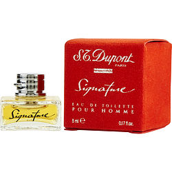 Signature By St Dupont Edt .17 Oz Mini