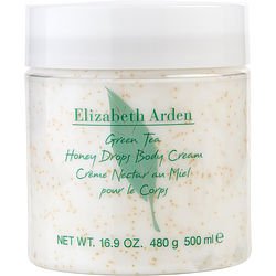 Green Tea By Elizabeth Arden Honey Drops Body Cream 16.9 Oz