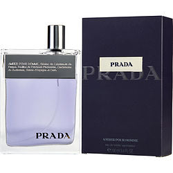 Prada By Prada Edt Spray 3.4 Oz (amber)