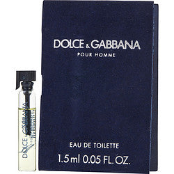 Dolce & Gabbana By Dolce & Gabbana Edt Vial On Card