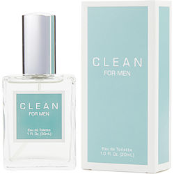 Clean Men By Clean Edt Spray 1 Oz (new Packaging)