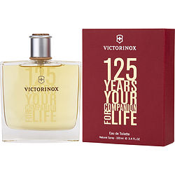 Victorinox 125 Years By Victorinox Edt Spray 3.4 Oz
