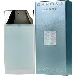 Chrome Sport By Azzaro Edt Spray 3.4 Oz