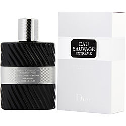 Eau Sauvage Extreme Intense By Christian Dior Edt Spray 3.4 Oz