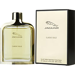 Jaguar Classic Gold By Jaguar Edt Spray 3.4 Oz