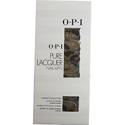 Opi Pure Lacquer Nail Apps--reptile--16 Pre-cut Strips By Opi