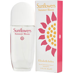 Sunflowers Summer Bloom By Elizabeth Arden Edt Spray 3.3 Oz