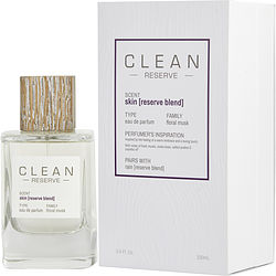 Clean Reserve Skin By Clean Eau De Parfum Spray 3.4 Oz