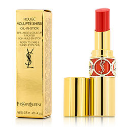 Yves Saint Laurent Rouge Volupte Shine Oil In Stick - # 46 Orange Perfecto --4.5g-0.15oz By Yves Saint Laurent