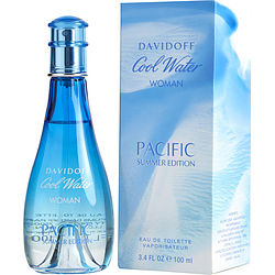Cool Water Pacific Summer By Davidoff Edt Spray 3.4 Oz (limited Edition 2017)