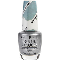 Opi Opi Silver Canvas Nail Lacquer P19--.5oz By Opi