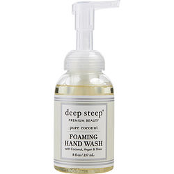 Deep Steep Pure Coconut Organic Foaming Hand Wash 8 Oz By Deep Steep