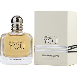 Emporio Armani Because It's You By Giorgio Armani Eau De Parfum Spray 3.4 Oz
