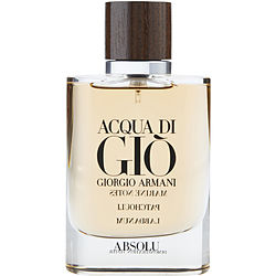 Acqua Di Gio Absolu By Giorgio Armani Eau De Parfum Spray 2.5 Oz *tester