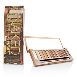 Urban Decay Naked Heat Palette: 12x Eyeshadow, 1x Doubled Ended Blending - Detailed Crease Brush --- By Urban Decay