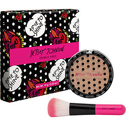 Betsey Johnson Highlighter Powder With Brush -- 10g-0.35 Oz By Betsey Johnson