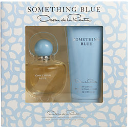 Oscar De La Renta Something Blue By Oscar De La Renta Eau De Parfum Spray 3.4 Oz & Body Lotion 6.7 Oz