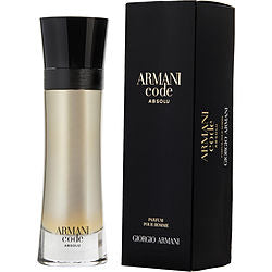 Armani Code Absolu By Giorgio Armani Eau De Parfum Spray 3.7 Oz