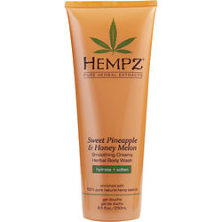 Sweet Pineapple And Honey Melon Smoothing Creamy Herbal Body Wash 8.5 Oz