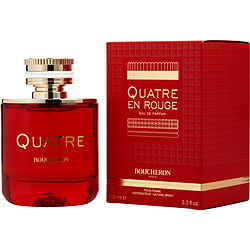 Boucheron Quatre En Rouge By Boucheron Eau De Parfum Spray 3.3 Oz