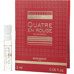 Boucheron Quatre En Rouge By Boucheron Eau De Parfum Spray Vial On Card