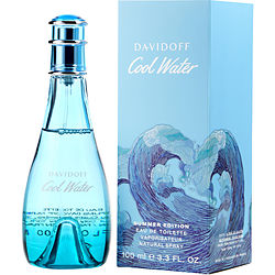 Cool Water Summer By Davidoff Edt Spray 3.3 Oz (limited Edition 2019)