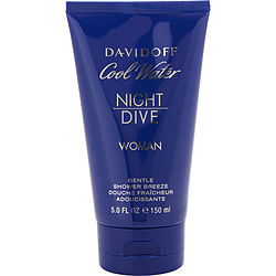Cool Water Night Dive By Davidoff Shower Gel 5 Oz