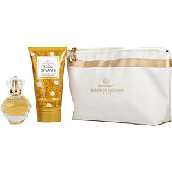 Marina De Bourbon Golden Dynastie By Marina De Bourbon Eau De Parfum Spray 1.7 Oz & Body Lotion 5 Oz
