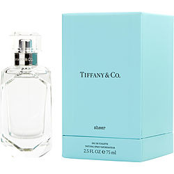 Tiffany & Co Sheer By Tiffany Edt Spray 2.5 Oz
