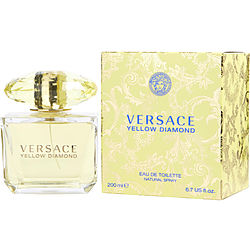 Versace Yellow Diamond By Gianni Versace Edt Spray 6.7 Oz