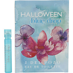 Halloween Blue Drop By Jesus Del Pozo Edt Spray Vial On Card