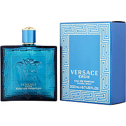 Versace Eros By Gianni Versace Eau De Parfum Spray 6.7 Oz