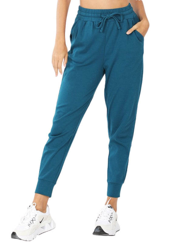 Jogging? Oh No, This Is For Lounging Jogger Set Teal