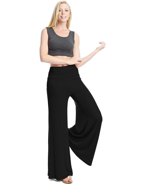 It's Almost Spring Palazzo Pants Wine