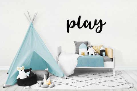Play Wall Sign - Harper & CO AU
