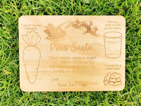 Santa Snack Tray - Harper & CO AU